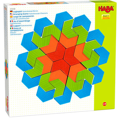 Arranging Game Kaleidoscope Chevrons (Haba 305048)