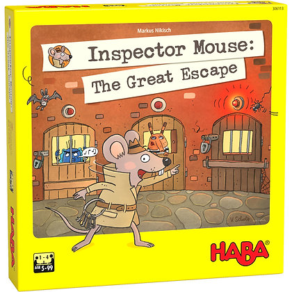 Inspector Mouse: The Great Escape (Haba 306113)