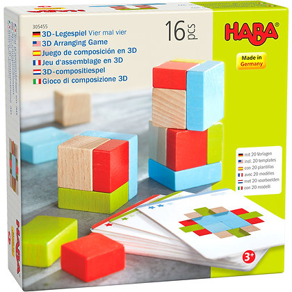 3D Arranging Game Four by Four (Haba 305455)