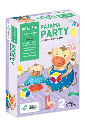 Pajama Party (Chalk & Chuckles CCPPL023) 3 - 6yrs