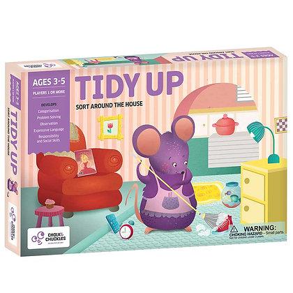 Tidy Up! (Chalk & Chuckles CCPPL020) 2 - 4yrs