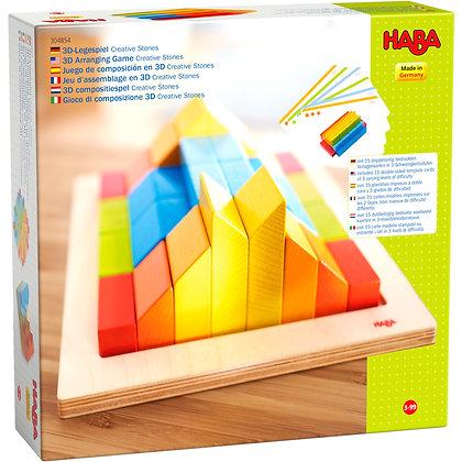 3D Arranging Game Creative Stones (Haba 304854)