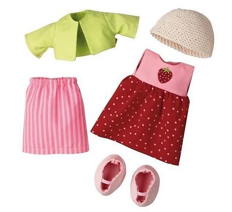 Dress Set Strawberry, for 30cm (Haba 3669)