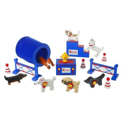 Puppy Love Best in Show Play Set  (Orange Tree Toys)