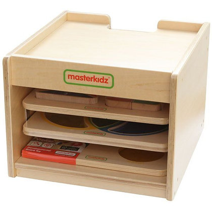 Handy Learning Board Storage Rack 3 Piece (Masterkidz MK10063)