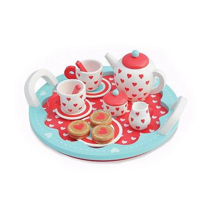 Hearts Tea Set (Indigo Jamm KIJ10055)