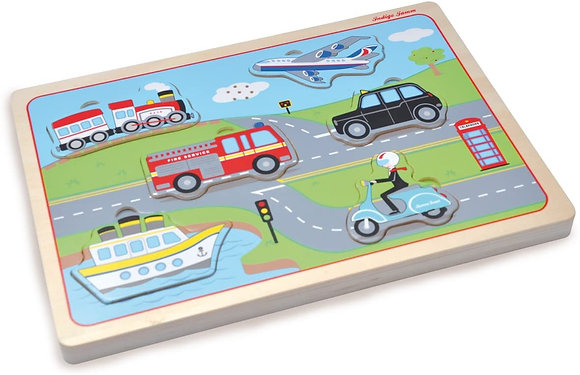 Transport Sound Puzzle (Indigo Jamm JIJ9054)