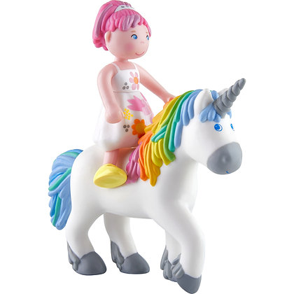 Little Friends – Amira and Unicorn Ruby Rainbow (Haba 305640)