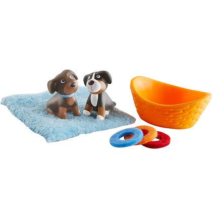 Brown & Tricolor Puppy (Haba 304751)