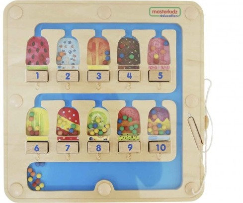 1-10 Counting Magnetic Maze (Masterkidz ME14542)