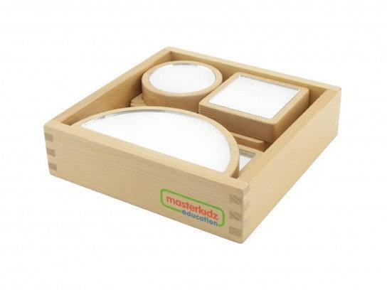 6-piece Mirror Block and Dry Erase Block Set (Masterkidz ME04017)