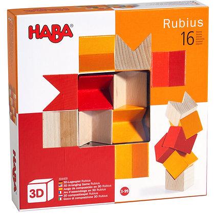 3D Arranging Game Rubius (Haba 304409)