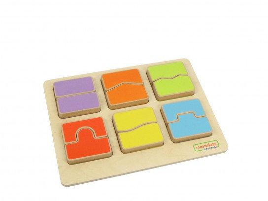Shape Matching Puzzle (Masterkidz ME03850)