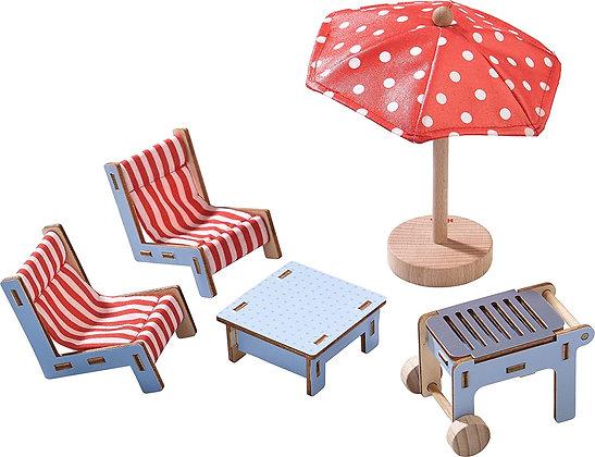 Terrace Dollhouse Furniture Set (Haba 303012)