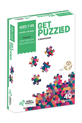 Get Puzzled (Chalk & Chuckles CCPPL030) 7yrs+