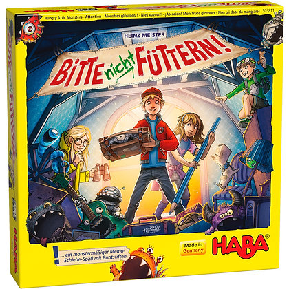 Hungry Attic Monsters (Haba 303811) 5yrs+