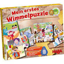 My First Wimmel Puzzles – Zoo(HABA 301099)