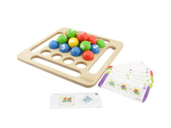 Jumbo Wooden Ball Game (Masterkidz ME03928)