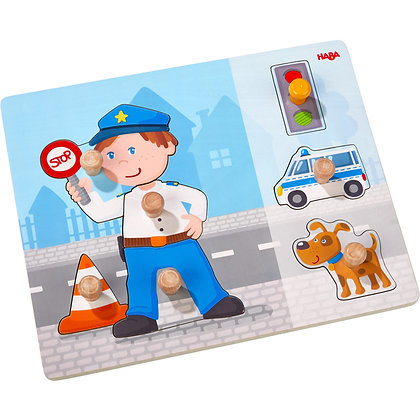 Clutching puzzle Police Deployment (Haba 304590)