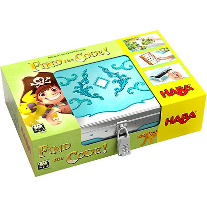 Find the code! Pirate Island (Haba 304839) 5yrs+