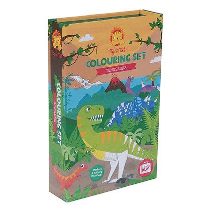 Colouring Set Dino (Tiger Tribe)