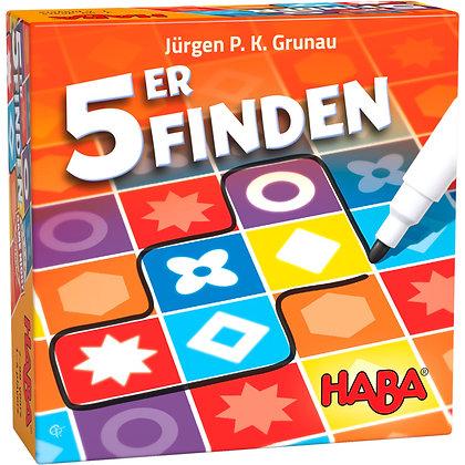 5er Finden (Haba 305733) 7yrs+