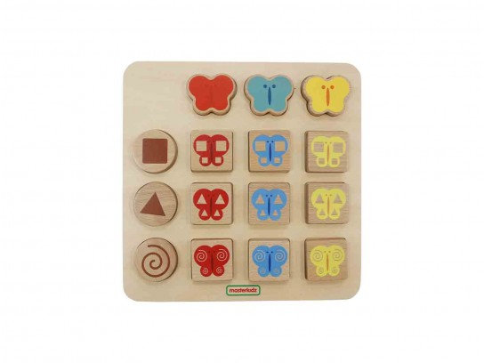 Primary Colour and Pattern Matching Game (Masterkidz MK14856) 2y+