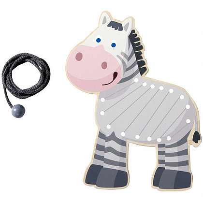 Threading Animal Zebra (Haba 300188)