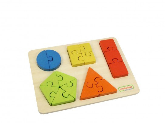Shape Learning Jigsaw Puzzle (Masterkidz ME03737)