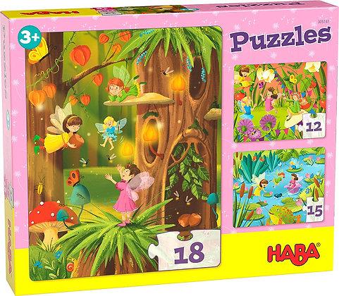 Puzzles Glittering Fairyland(HABA 305197)