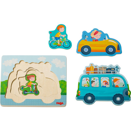 Wooden puzzle On the road(Haba 303679))