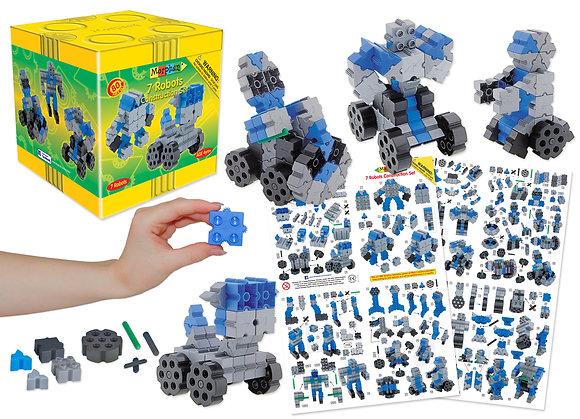 7 Robots Construction Set (Morphun 25201) 4yrs+