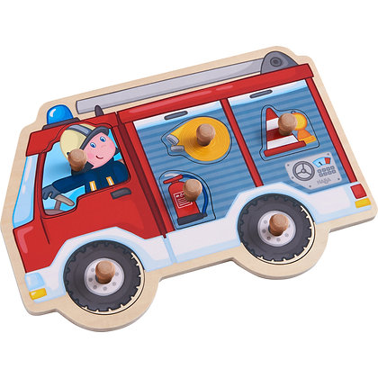 Clutching Puzzle - Fire Engine (Haba 304594) 12m+
