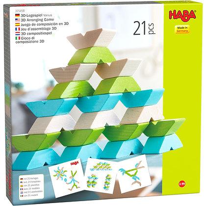 3D Arranging Game Varius (Haba 305458)