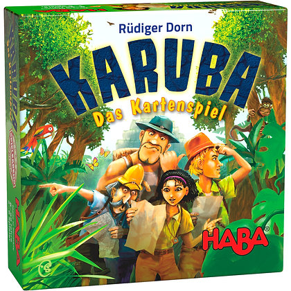 Karuba – The Card Game (Haba 303474) 8yrs+
