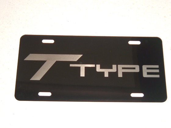 BUICK T-Type Laser Engraved Plate