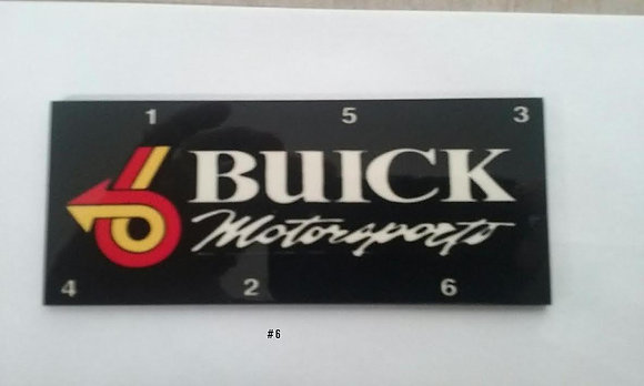 Buick Motorsports Coil Pack Cover