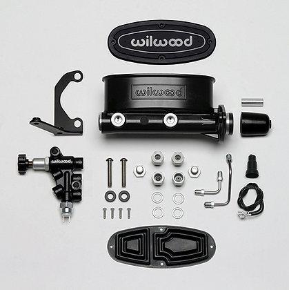 Aluminum Tandem M/C kit with bracket & valve