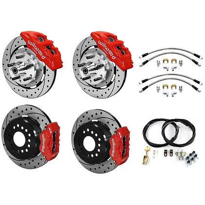 """Complete"" Front & Rear 12"" Dynapro/Dynalite brake kit"
