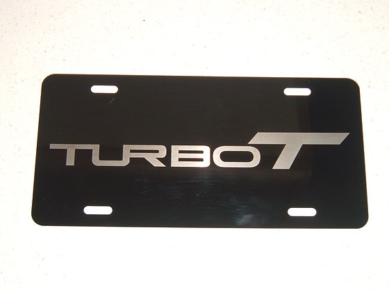 BUICK TurboT Laser Engraved Plate
