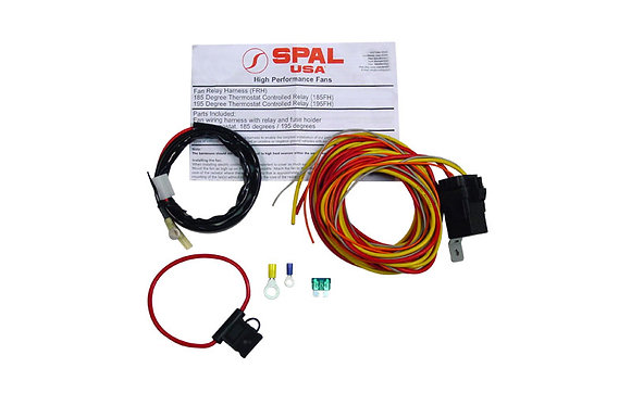 67-69 Camaro DSE Spal dual fan relay kit #130201