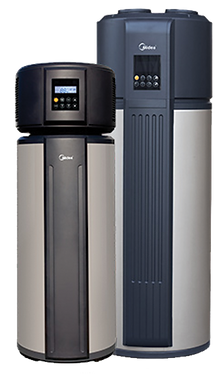 Electric midea heat pumps