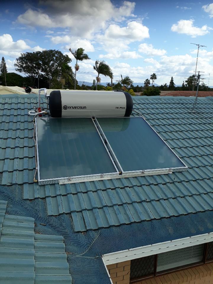 Envirosun on Tiled Roof