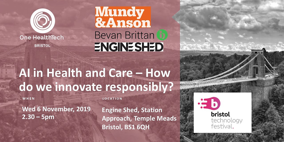 AI in Health and Care – How do we innovate responsibly? (Bristol)