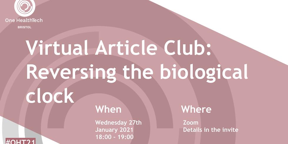 Turning back the biological clock - A Virtual Article Cahoot! (Bristol)