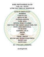 2021-03-11 - Kory Montgomery Band - Setl