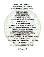 Setlist - Blue Light Bandits 8-6-20 copy