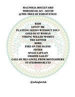 Setlist - Magnolia Boulevard 8-27-20 cop