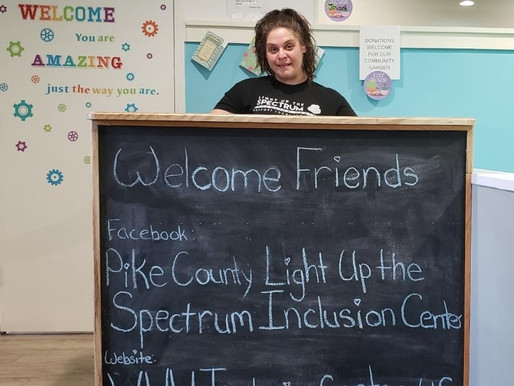 Light Up the Spectrum Center about inclusion of all persons
