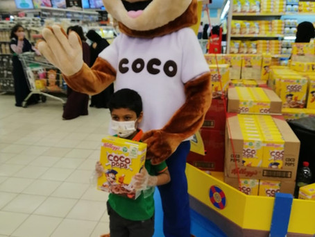 Kellogg's Coco Pops Back to School in-store Activity